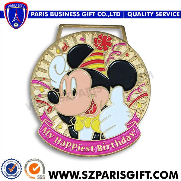 可爱米老鼠奖牌 - 金属工艺品厂家专业生产奖牌,徽章